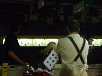 The Schuetzengruppe (Air Rifle Group) organise a shooting gallery with blanks!