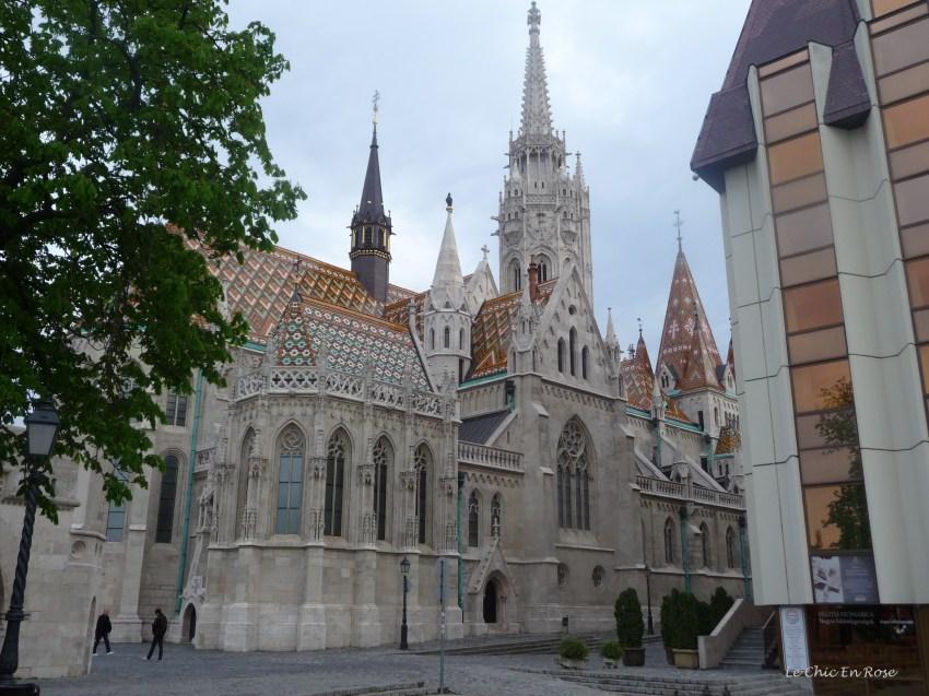 The beautiful Matthias Church Buda Castle District