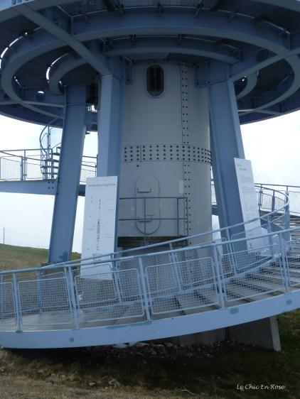 Rigi Kulm Base of TV Tower