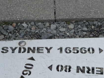 We were a long way from home but not quite as far as Sydney which is on the other side of the Australian continent to our home in Perth!