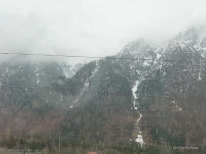 View from train en route from Mittenwald to Garmisch