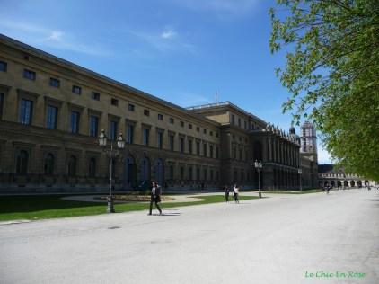 Buildings in the Hofgarten