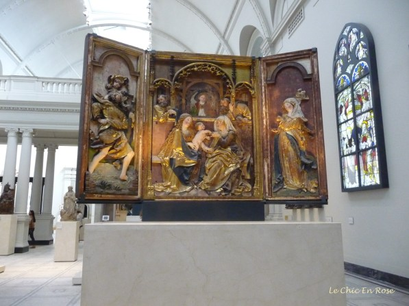 Painted Triptychs