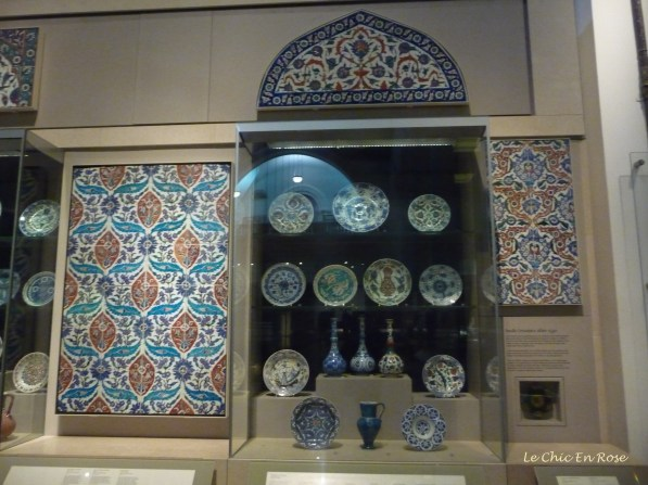 Items from the Middle Eastern collection