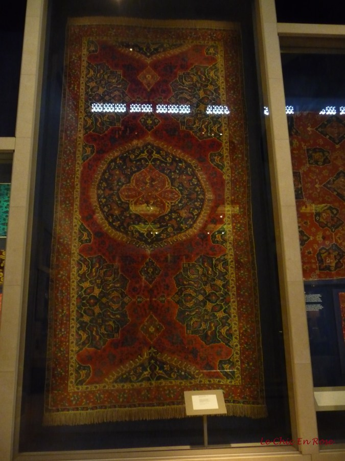 Beautiful carpet from the V&A collection