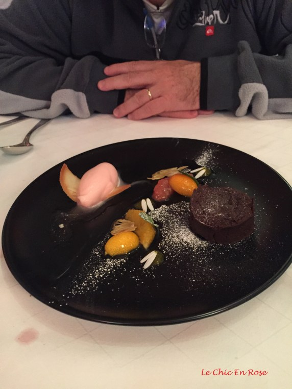 A selection of flavours and textures for dessert
