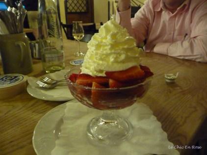 Dessert - say no more! Sehr lecker (delicious!)
