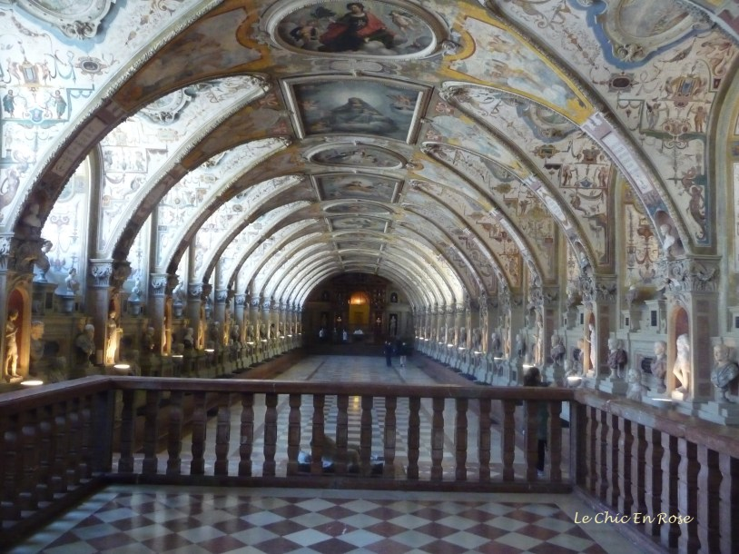 The magnificent Antiquarium Munich Residenz