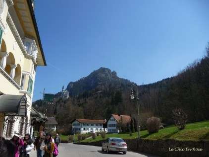 Main street of Hohenschwangau
