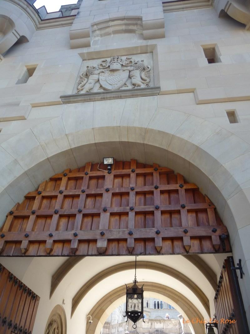 Neuschwanstein Castle gates
