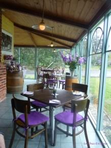 Tea room setting