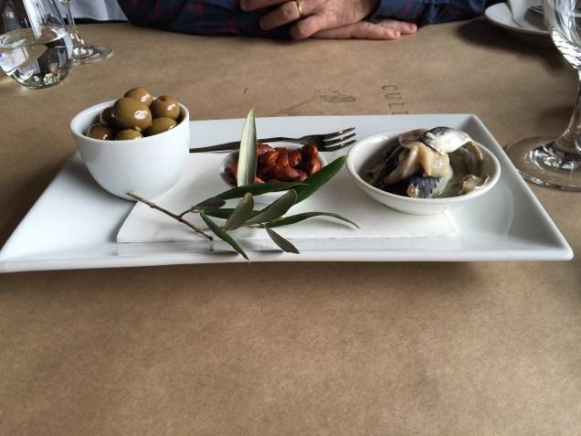 Starter sharing plate