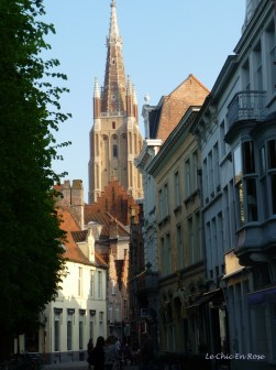 Narrow streets and church spires