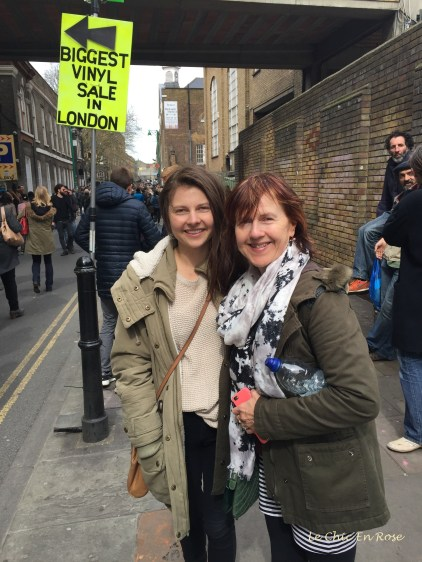Brick Lane London - Mlle and Le Chic En Rose