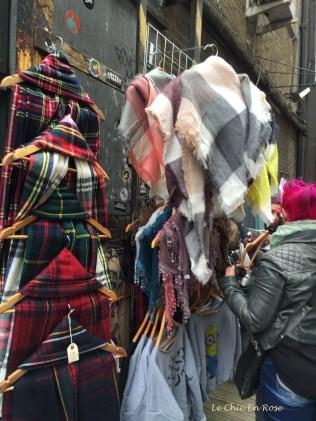 Street stalls Brick Lane