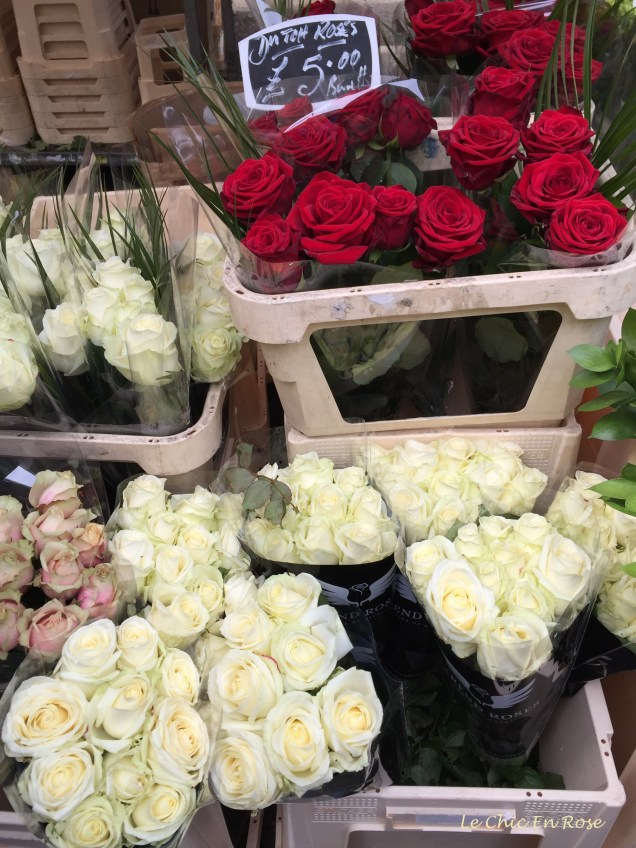 Roses at Colombia Road Flower Market