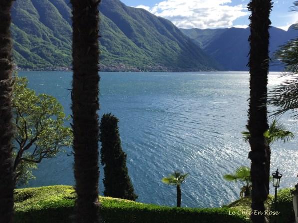 View From Gardens Of Villa del Balbianello