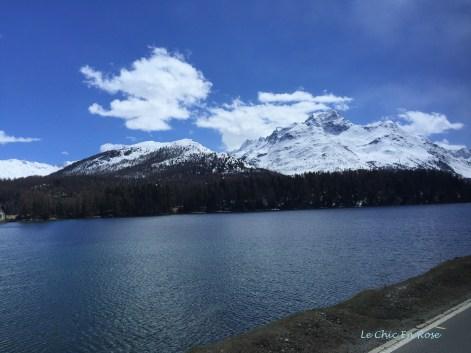 The Beautiful Engadine Scenery