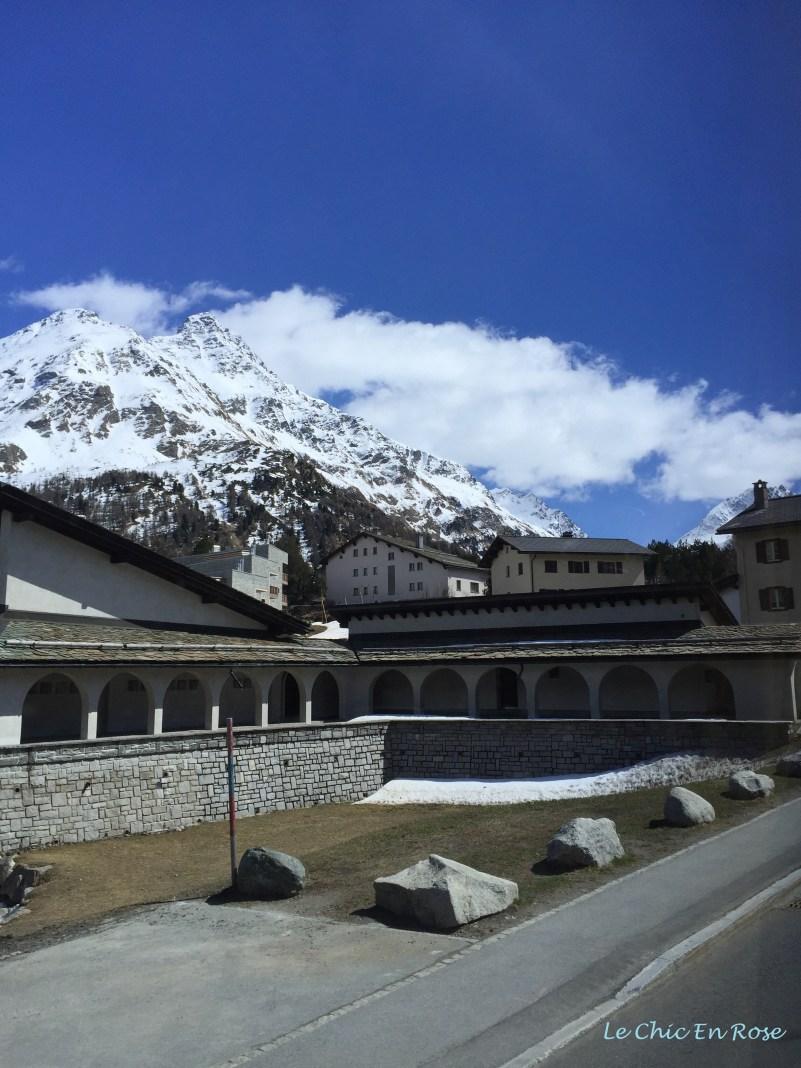 Alps Behind Sils