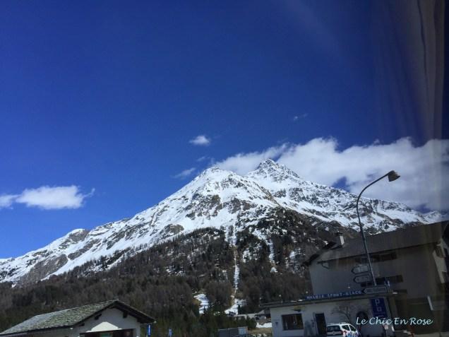 Alps Of the Upper Engadine