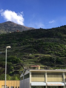 Hilltop Villages In The Valtellina