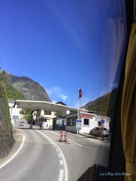 Border Crossing Point Italy/Switzerland