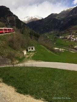 Bernina Climbing The Poschiavo Valley