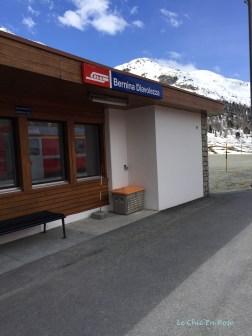 Bernina Diavolezza Station