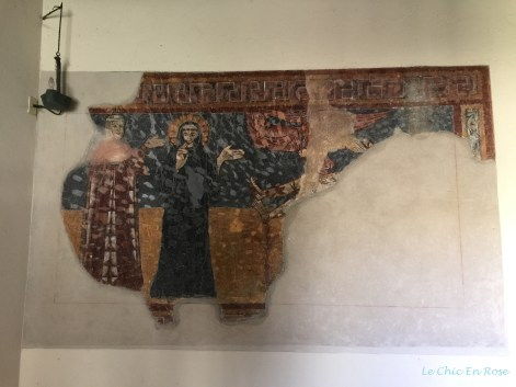 Frescoes At Piona Abbey Cloisters