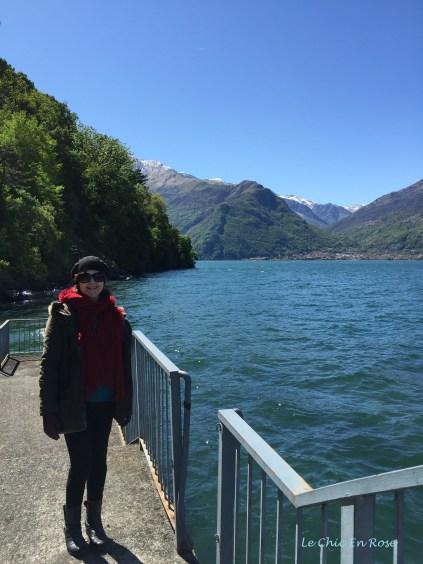 Down At Piona Quay On Lake Como