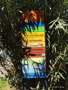 Varenna Street Signs