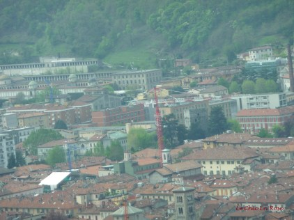 En Route Up To Brunate By Funicular