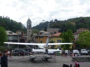 Seaplane At Aero Club Como