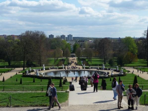 Sanssouci Park - View From Palace Terraces
