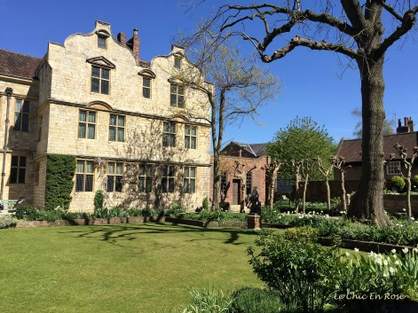 Spring Day Treasurer's Gardens