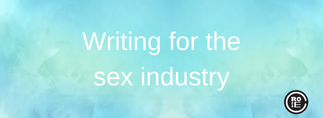 Writing for the sex industry