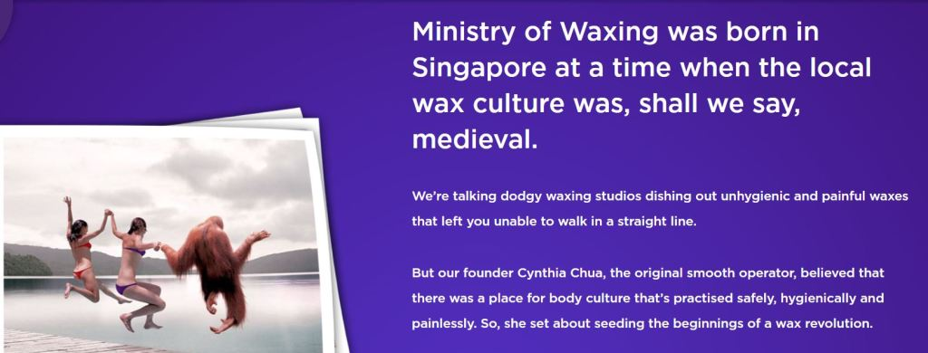 Ministry-of-waxing-copywriting-personality