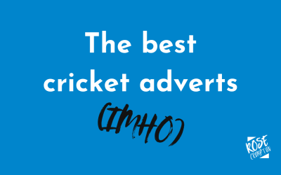 The best cricket adverts