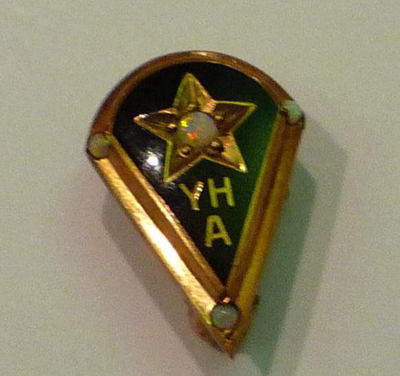 Youngstown Hospital Association nurse's pin, c1945