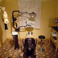 Vintage Dentist Chair Ergonomic Germany Medical/dental Office Exhibit | Rose Melnick Museum Exhibits