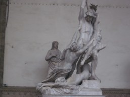 Statue of a rape..there are a lot of these...