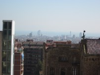 First view from Park Guell