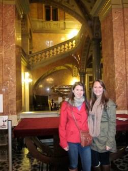 Inside the Budapest Opera House