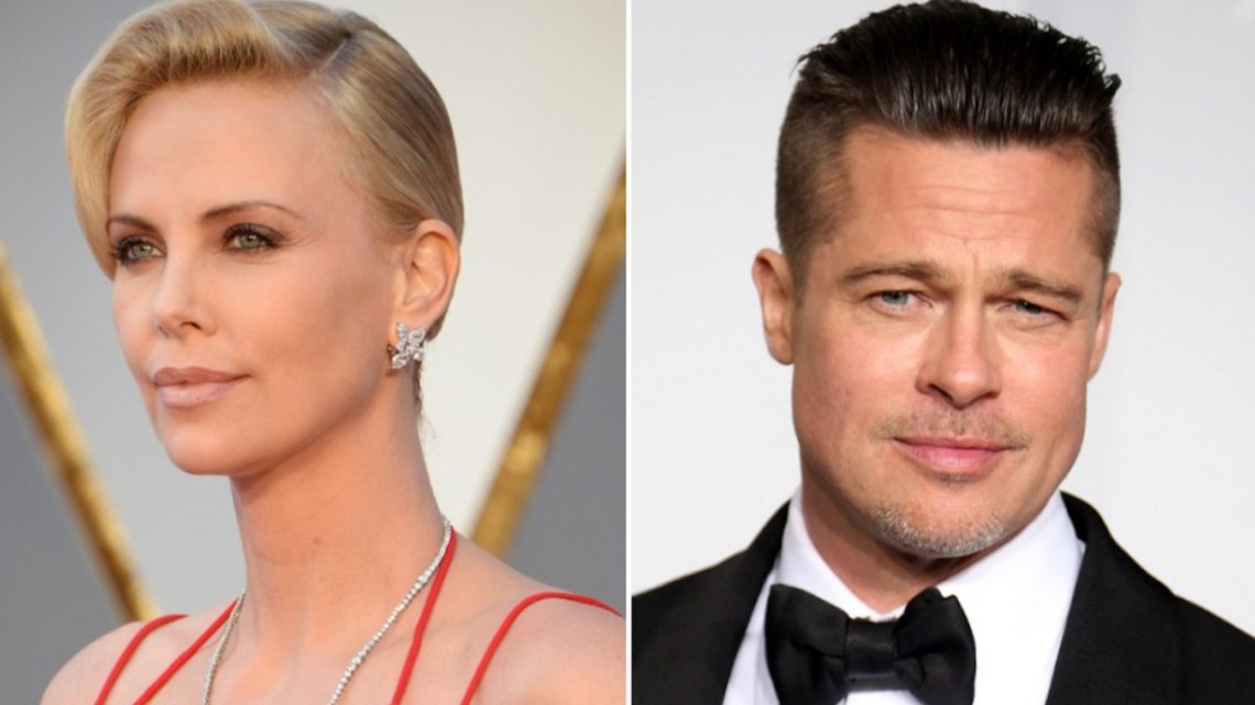 Angelina JALOUSE du couple Brad Pitt et Charlize Theron !