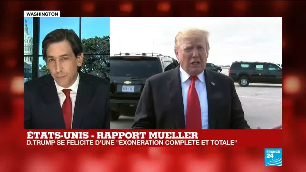Affaire Trump : Rapport Mueller