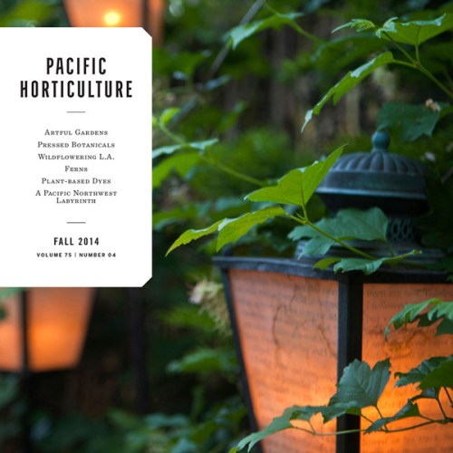 PACIFIC HORTICULTURE MAGAZINE