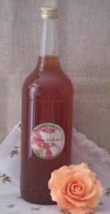 1 Liter Rose-Marillen-Balsam-Essig