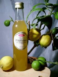 Zitronen-Balsam-Essig für Gemüse Food Bowls
