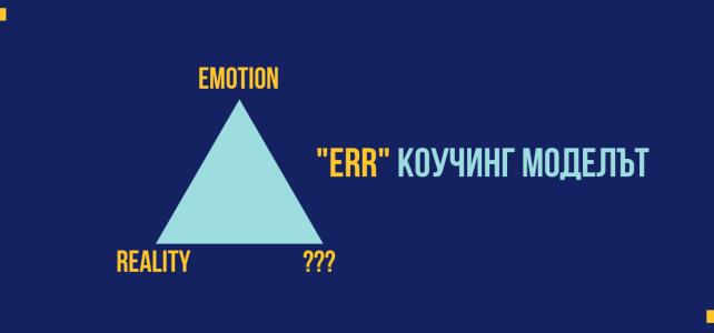 Коучинг модел за работа с емоциите