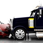 Accident Between A Car And A Truck